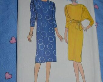 Butterick 3333 Misses Dress Sewing Pattern - UNCUT - SIze 10