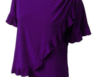Latin Ruffles Breastfeeding Nursing Top - Maternity