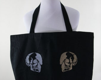 Jumbo Black Canvas Bag FREE SHIPPING Everybody Dies
