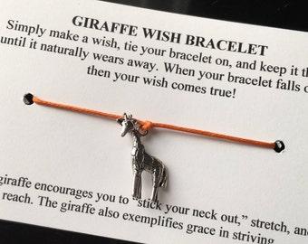 Giraffe Wish Bracelet - Choose your Color