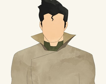 Avatar The Legend of Korra LOK Bolin earthbender lavabender
