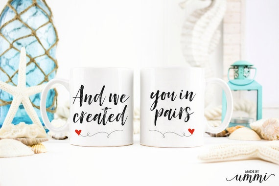 Wedding Gifts For Muslim Couples : Muslim couple mug set, wedding mugs gift set, gift for a couple ...