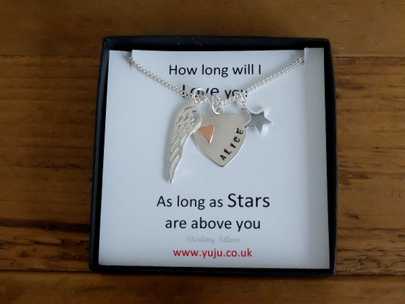 Loss of Child, Loss of Mother, Loss of Daughter, Loss of Son, Sterling Silver Memorial Necklace, Bereavement Gift, Miscarriage, Stillborn