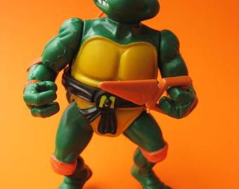 Vintage Teenage Mutant Ninja Turtles MICHAELANGELO Figure