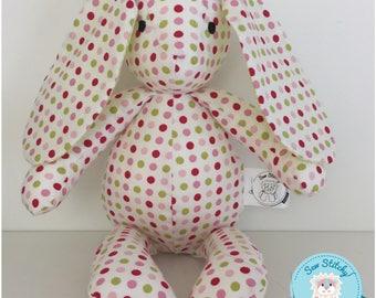 SALE*REDUCED* Mini Bunny - Spots, Multicolured