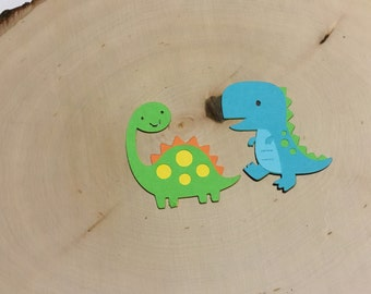 Scrapbook Embellishments, Dinosaur Die Cut - Set of 4