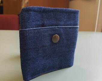 Upcycled Denim Bi-Fold Wallet