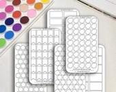 Blank Planner Sticker Col...
