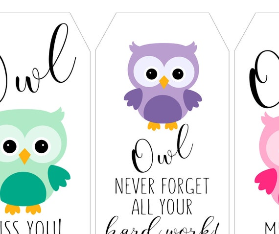 Remarkable image in owl miss you printable