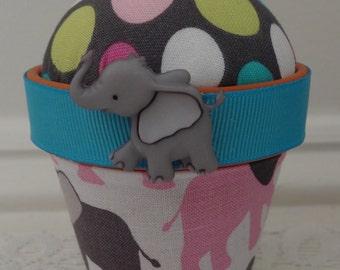 Elephant #1: Stick-It-To-Me! Pin Cushion