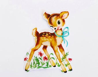 Adorable Fawn Stickers