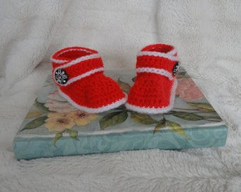 baby booties (booties ONLY)