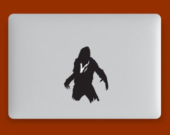Werewolf decal for your macbook, ipad, fridge, windows, car, or everywhere you can stick it !