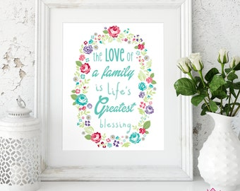 Family Love Art Print