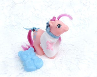 Vintage My Little Pony Peekaboo Baby Sweet Stuff With Accessories