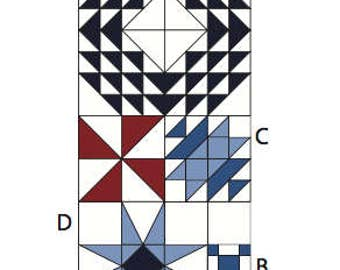 Portage Lake Block of the Month - Month 8 - DOWNLOAD