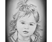 Personalized Portrait, Custom Family Portrait, Custom Couple Portrait, Pencil Portrait, Drawing from Photo, Sketch from Photo, Pencil Sketch