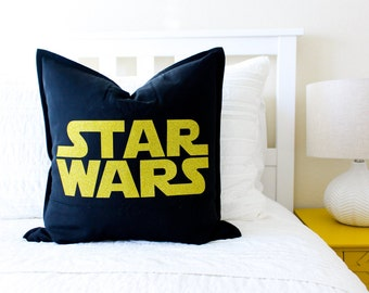 Star Wars Pillow Cover - Father's Day Gift, Gift for Men, Star Wars Men Gift, Gift for Her, Star Wars Geekery