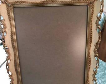 Vintage mid century metal table top frame