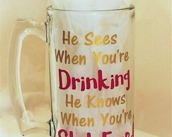 Man cave beer mugs | Etsy