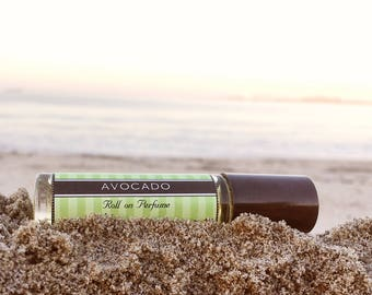 AVOCADO || Roll on Perfume || Birthday Gift for Her || Long lasting perfume || vegan perfume || Mothers Day Gift