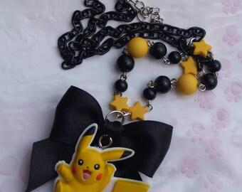 Turquoise necklace Kawaii Pokémon Pikachu