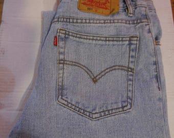 Levis 501's Straight Leg Jean 34W 32L, Levi 501 Jeans, 34 Waist 32 Leg, Levis 501's, Second hand Levi 501s, Levis 501s 34W x 32L