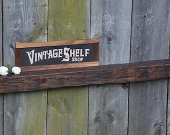 Vintage White Oak Mantel 6 x 4.5