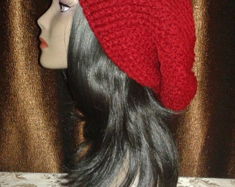 Crocheted Slouchy Beret