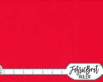 KONA COTTON CARDINAL Solid Fabric by the Yard, Fat Quarter Robert Kaufman Red Solid fabric K001-1063 100% Cotton Quilting Fabric w11-22
