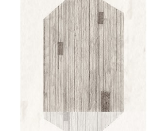 house | double by Ana Frois . digital print
