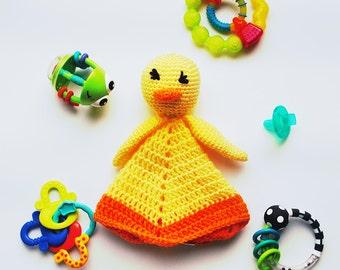 Baby Chicken  Blanket - Yellow Chicken Blanket Baby - Chicken Baby Blanket - Baby Chicken Lovey - Yellow Chicken Lovey - Chicken Baby Toy -