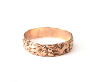 Victoria 14K  Rose Gold Baby's Ring