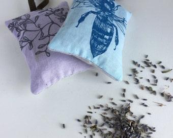 Lavender Sachets, Set of 2, Sachet Pillows, Drawer Sachets, Car Freshener, Gifts Under 20, Made in Colorado