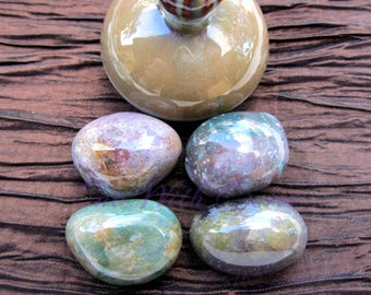 Fancy Jasper Healing Crystal, Wholeness Stone, Immune System, Restores Energy Within The Body
