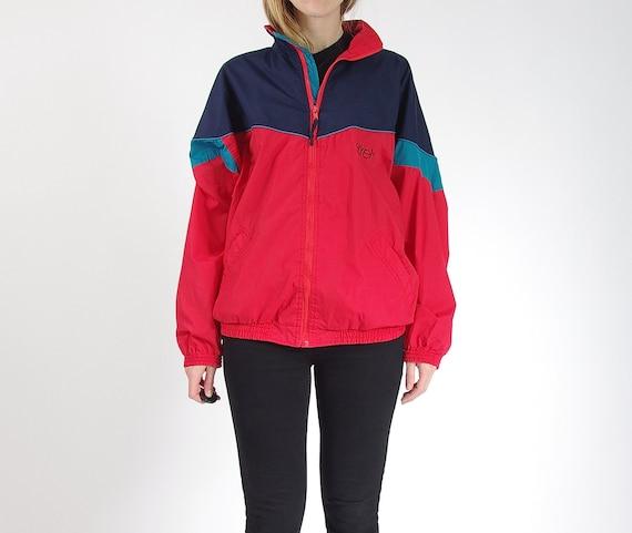 SALE 40% OFF - 90s Etirel Le Style Sportif Oldschool Streetwear Track Suit Jacket / Size M