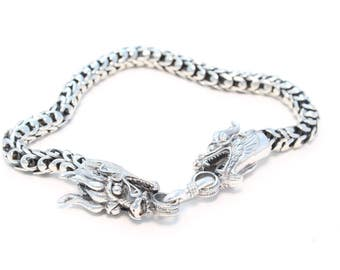 Noble Dragon bracelet in 925 sterling silver