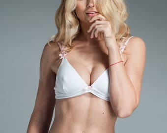 Undies - Soft Bra - Silk Bra Lingerie