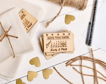 Save The Date, Rustic Wooden Save the date, Wedding Stationary,