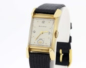 14K Gold Bulova Wrist Watch