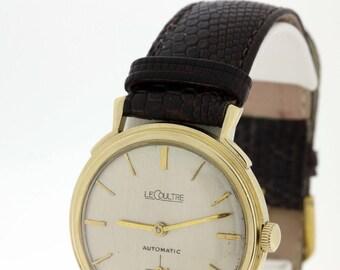 14K Gold LeCoultre Automatic Wrist Watch