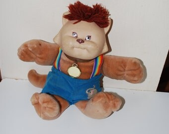 Cabbage Patch Kid Koosa Koosas Vintage Overalls 1983