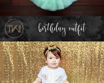 First Birthday Outfit Girl, Mint Gold Tutu Girl First Birthday Outfit, Birthday Shirt, Mint Birthday Tutu, Cake Smash Outfit Dress