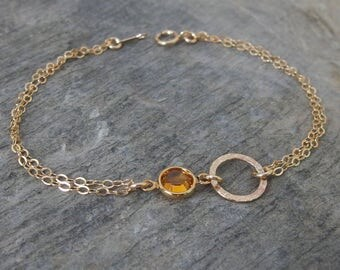 Personalized bracelet Birthstone bracelet Personalized bridesmaid bracelet Best friend gift Bridesmaid gift Bridesmaid jewelry Birthstone