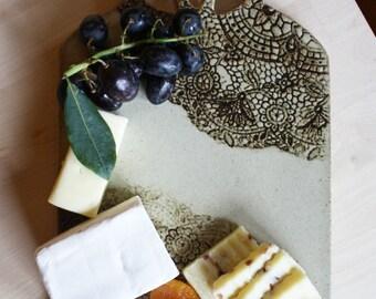 Ceramic Cheese Board