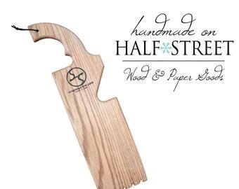 Organic 5-in-1 Wood Grill Scraper