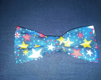 Boys Stars Clip-On Bow Tie