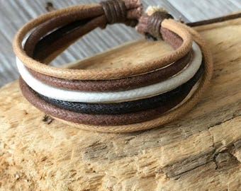 Vegan Bracelet, Vegan Jewellery, Hemp Cord Bracelet, Hemp Jewelry, Gifts Under 10 Well Made and Priced Right  HB-27