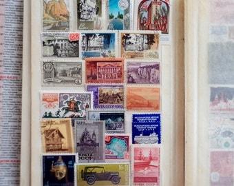 Vintage USSR Postage Stamps, USSR 60's - 70's, Collectibles, Postage Stamps from USSR Communist Regime, Soviet Era
