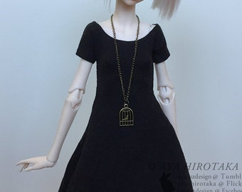 BJD - MSD Casual Vintage Dress
